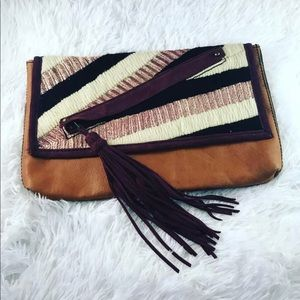 Jasper & Jerra Anthropologie clutch purse bag